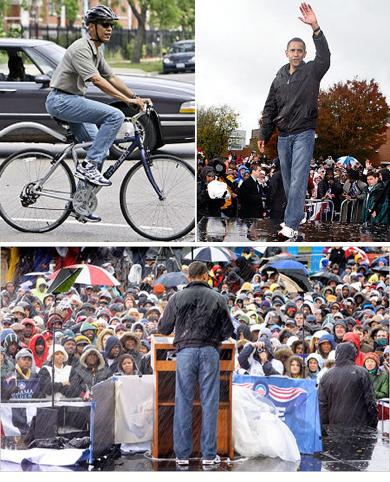 Barack Obama w jeansach