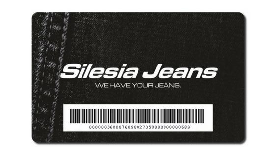 Karta Podarunkowa Silesia Jeans