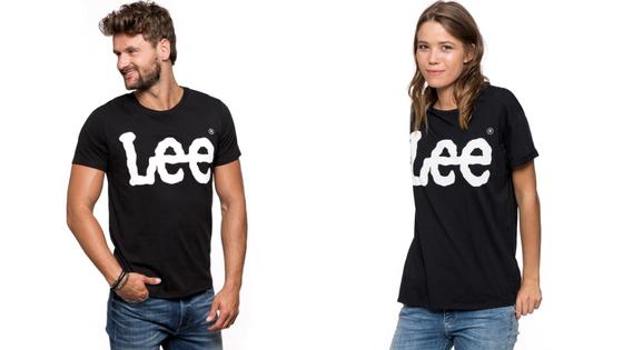 T-shirt Damski Męski Lee