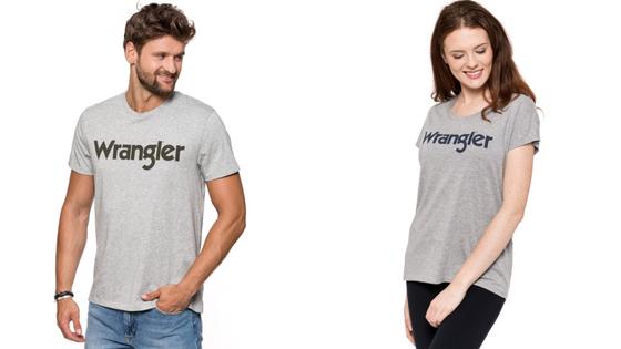 T-shirt Damski Męski Wrangler