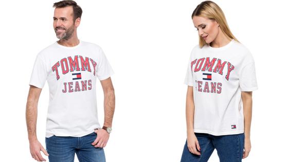 T-shirt Damski Męski Tommy Jeans Hilfiger Denim