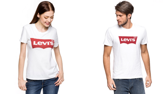 T-shirt Damski Męski Levi's