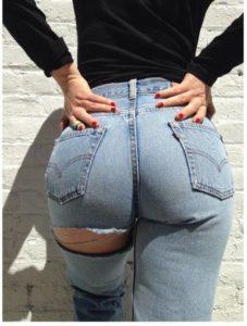 Wady, a ozdoby dżinsów