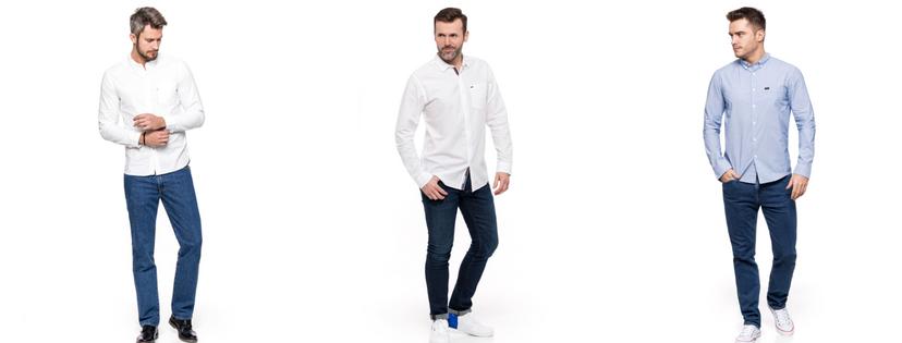 Eleganckie stylizacje jeansowe Męskie