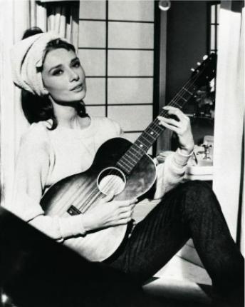 Audrey Hepburn Levi's