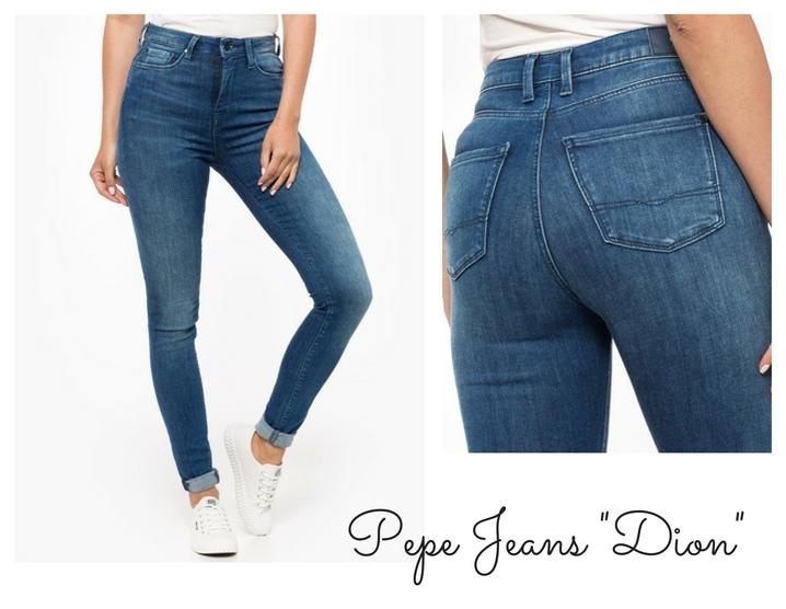 jak dobrać spodnie do figury jabłko pepe jeans