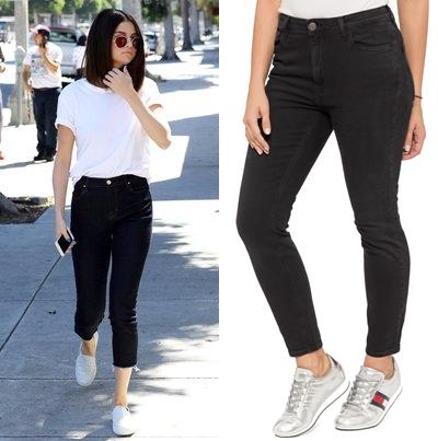 Czarne Spodnie Jeansowe Damskie Tommy Jeans