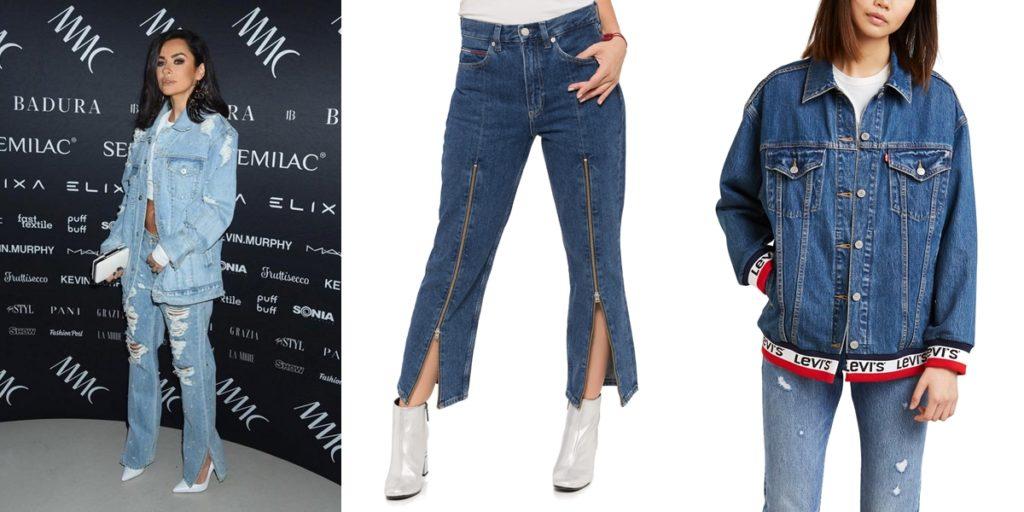 Jeansowy Total Look — Spodnie Jeansowe Tommy Jeans i Kurtka Jeansowa Levi's