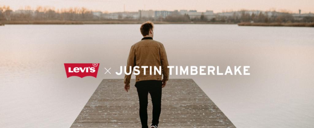 Justin Timberlake Freash Leaves Levi's
