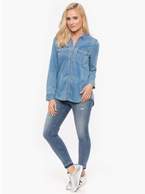 Jeansowy Total Look Koszula Damska Tommy Jeans Bluestilo.com