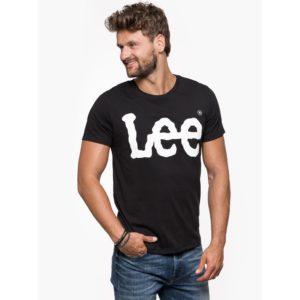 Lee Logo T-shirt Męski Bluestilo