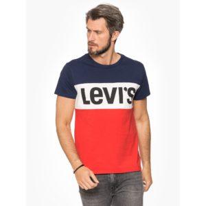 Levi's Colorblock T-shirt Męski Bluestilo