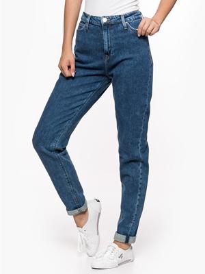 Lee Mom Jeans Spodnie Jeansowe Damskie Bluestilo.com