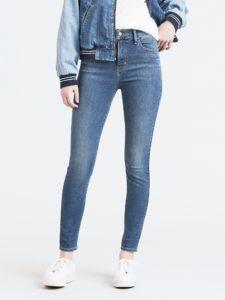 Damskie Spodnie Jeansowe Levi's Mile High Super Skinny