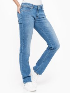 Spodnie Jeansowe Damskie Wrangler Straight