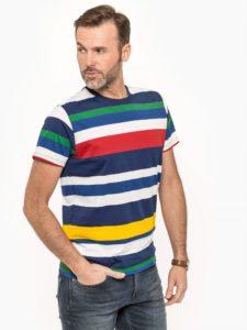 T-shirt Męski Pepe Jeans Paski Bluestilo.com