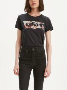 T-shirt Damski Kwiaty Levi's Bluestilo.com