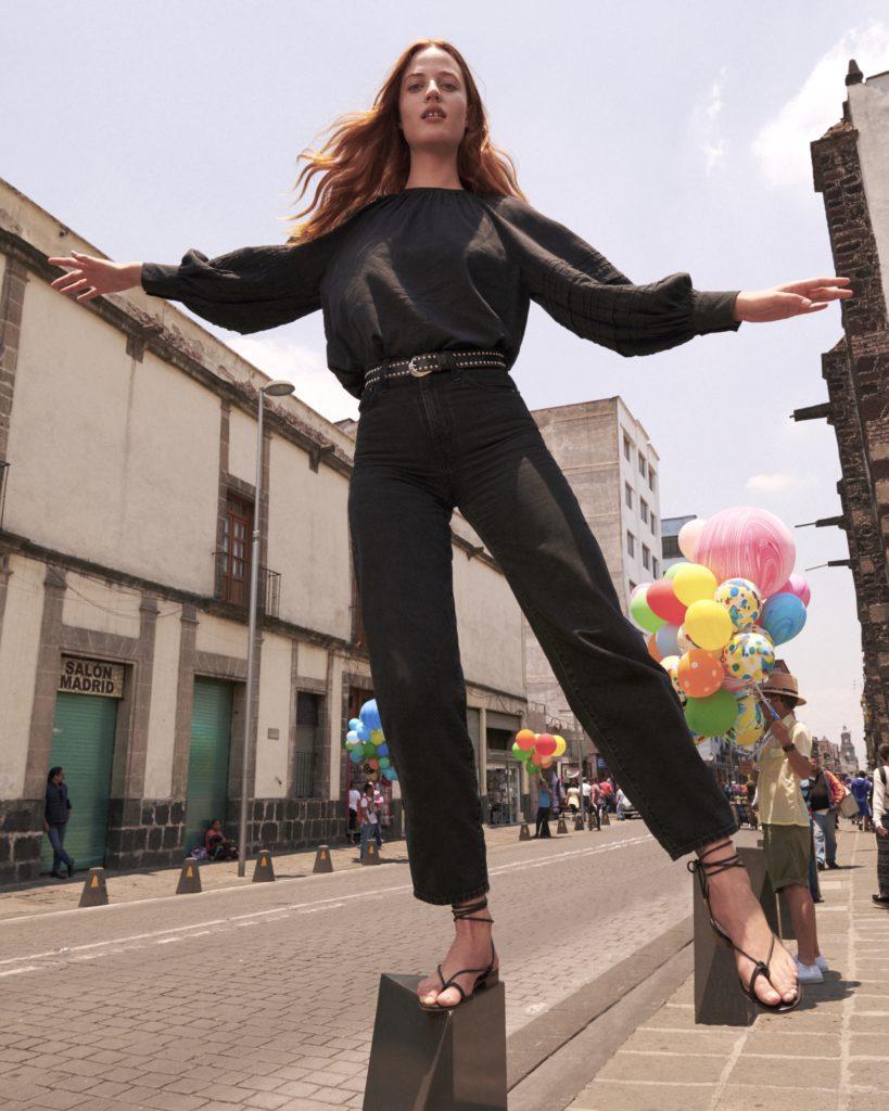 Levi's Balloon Jeans