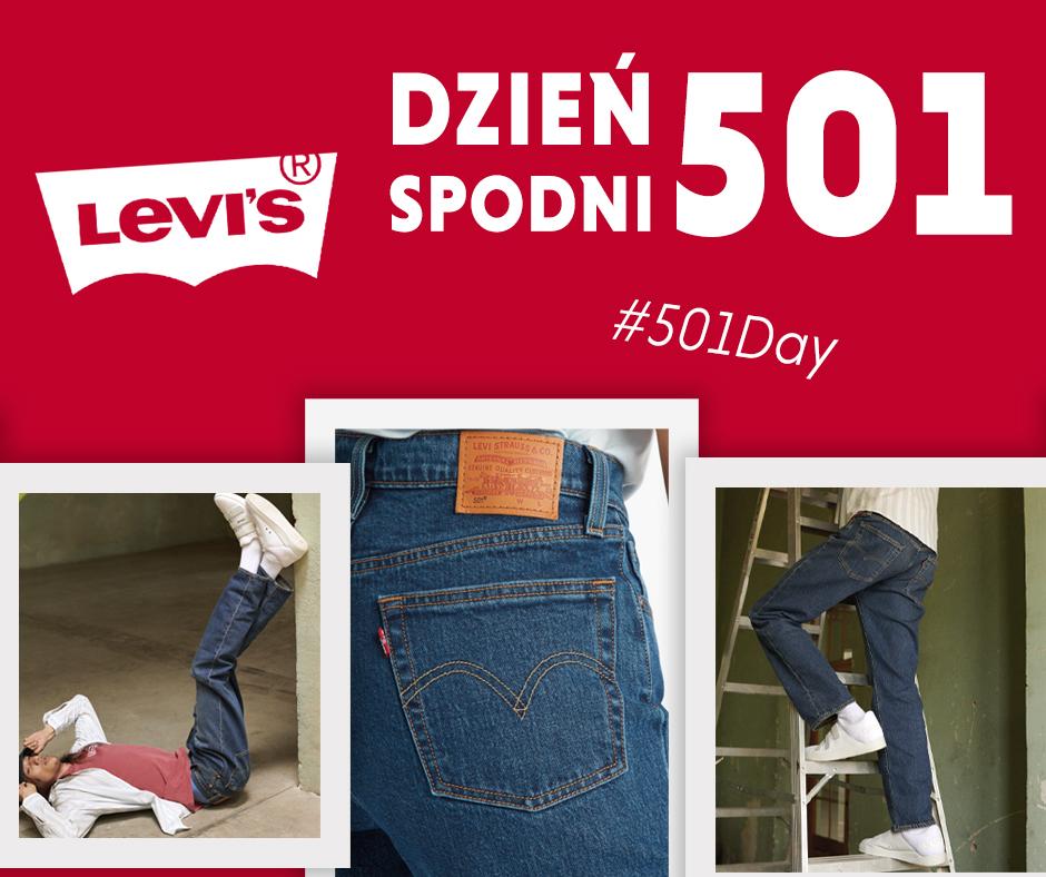 Spodnie Jeansowe Levi's 501 #501Day