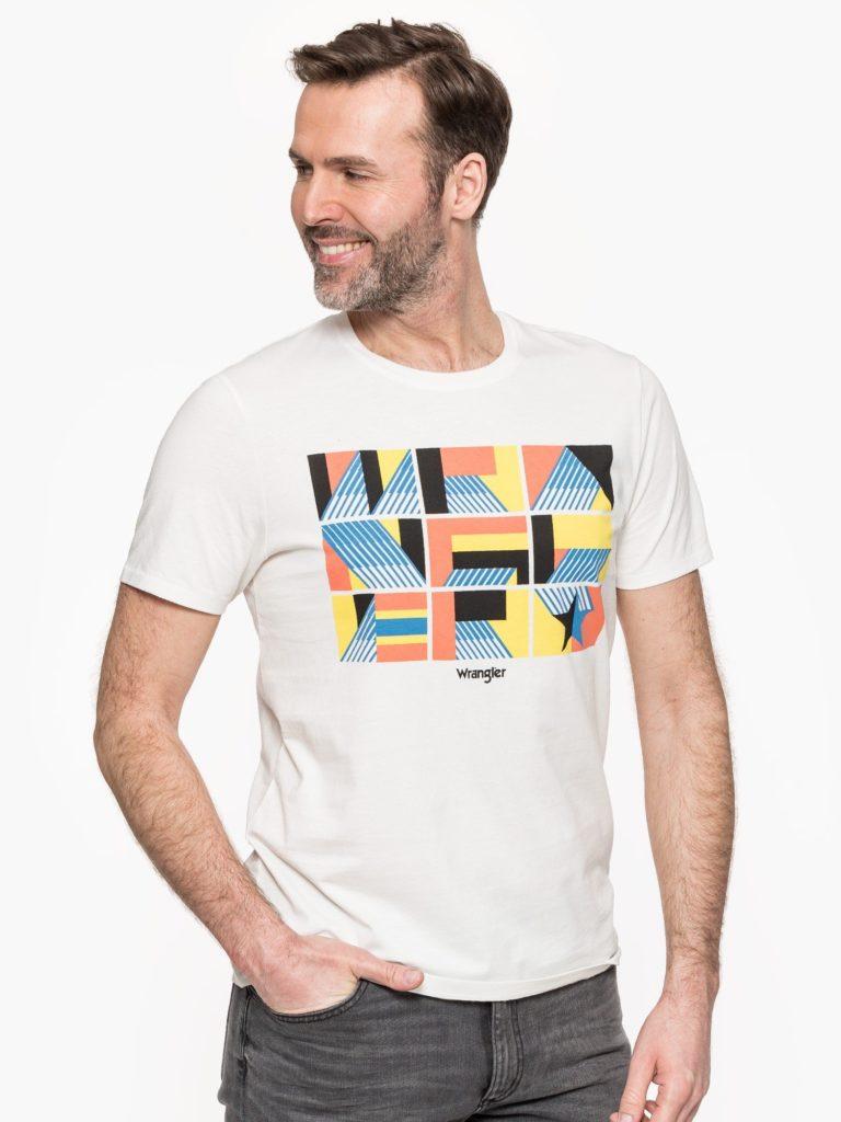 T-shirt Męski Wrangler Lato 2020