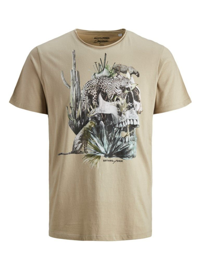 T-shirt Męski Jack & Jones Lato 2020