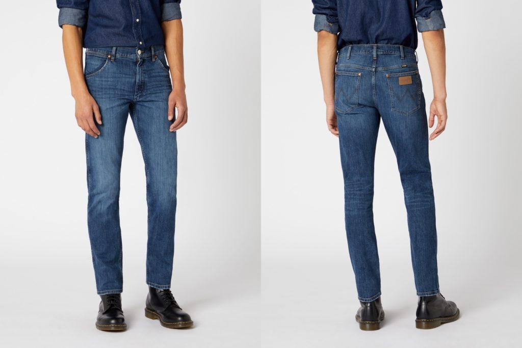Męskie spodnie jeansowe Wrangler 11MWZ
