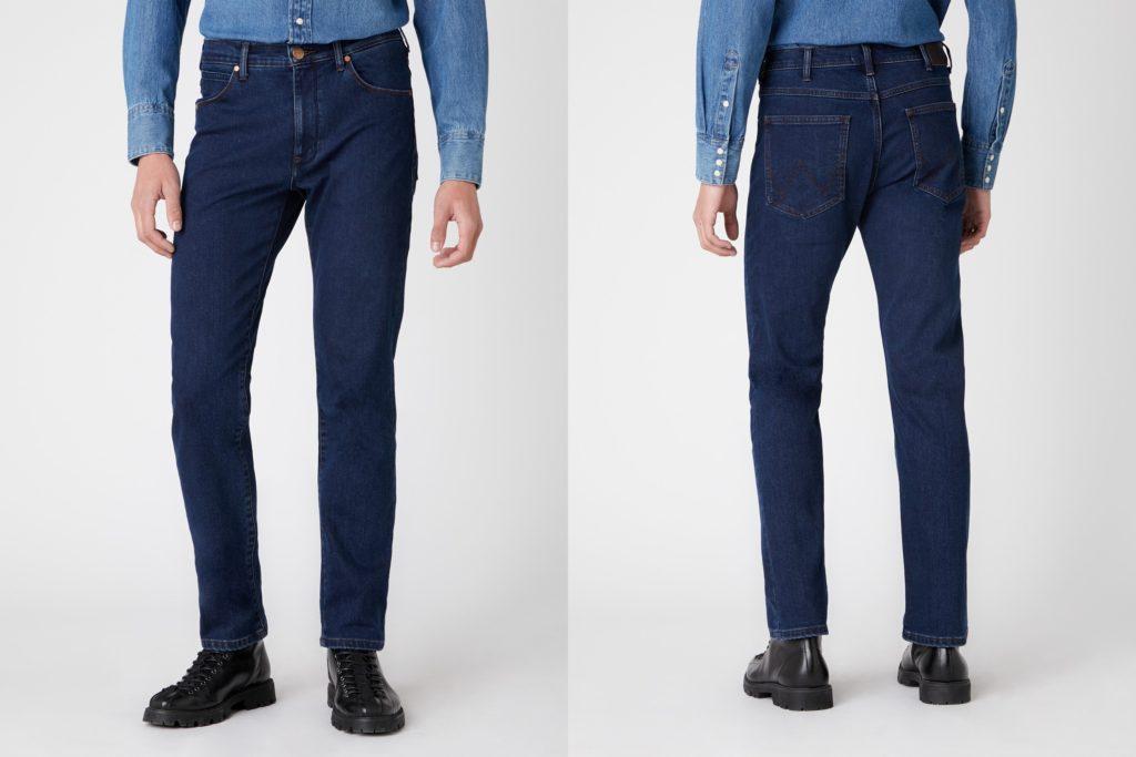 Męskie spodnie jeansowe Wrangler Arizona