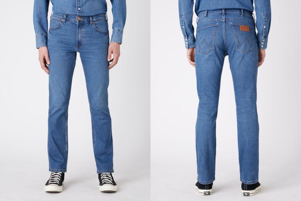 Męskie spodnie jeansowe Wrangler Greensboro