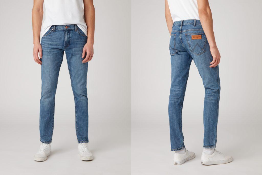Męskie spodnie jeansowe Wrangler Larston
