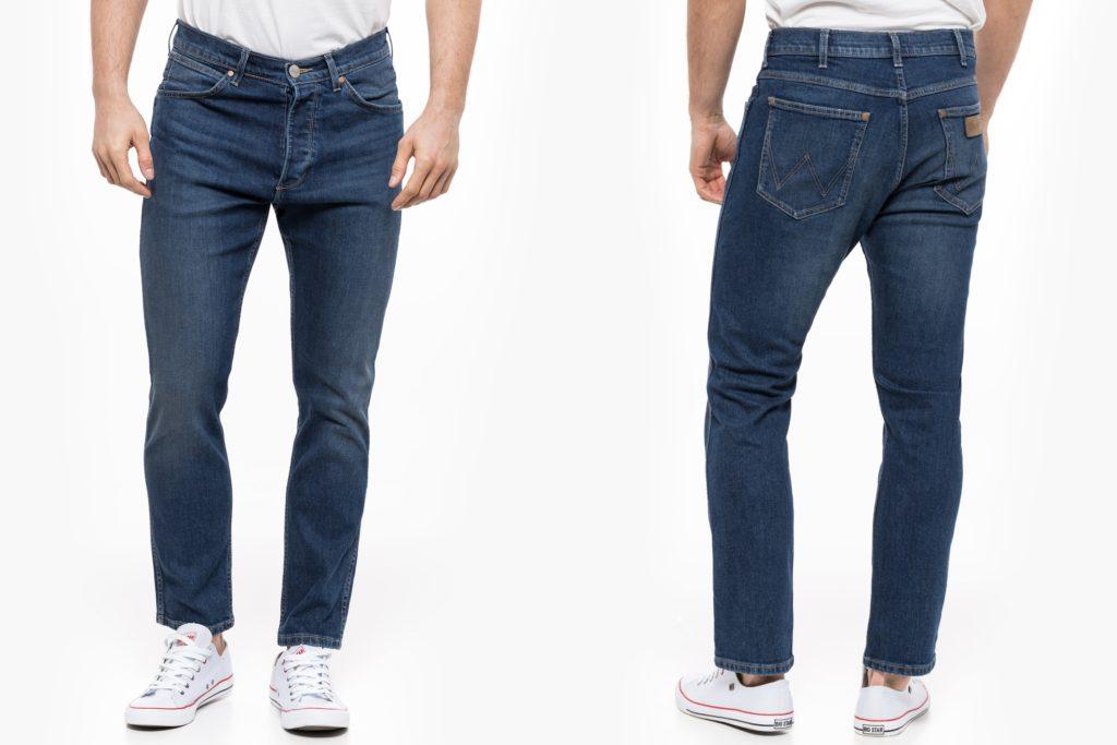 Męskie spodnie jeansowe Wrangler Slider