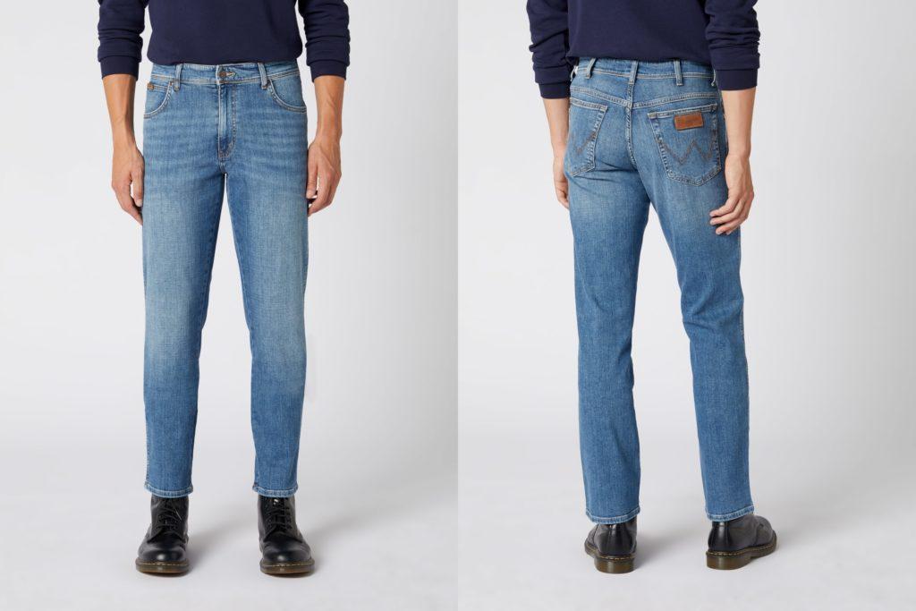 Męskie spodnie jeansowe Wrangler Texas